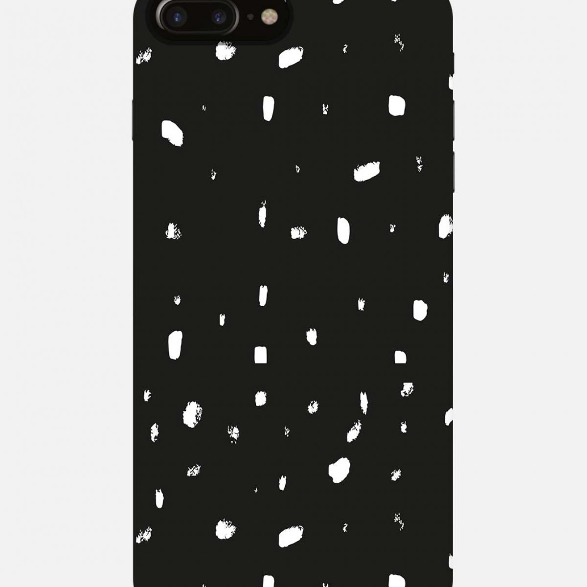 new arrival 10cbf 9ee30 White Dots iPhone 7 Plus Mobile Cover