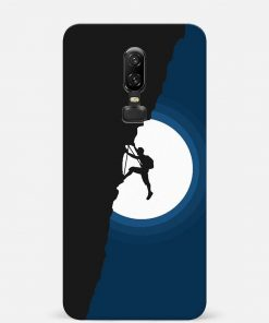 Climbing Oneplus 6 Mobile Cover